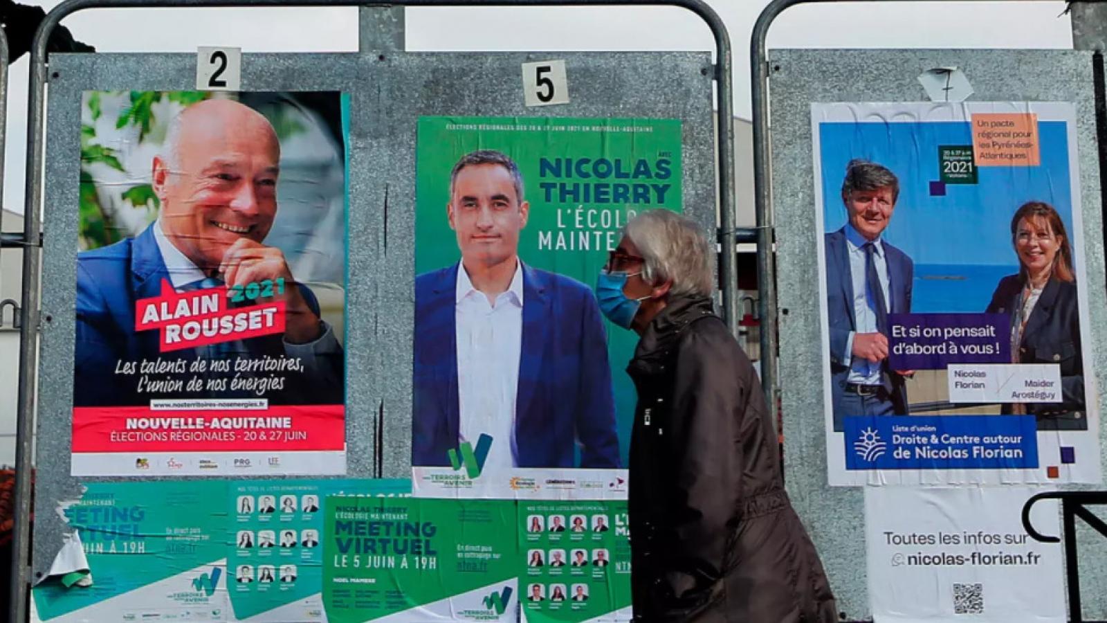 Pháp tiến hành bầu cử khu vực vòng 2