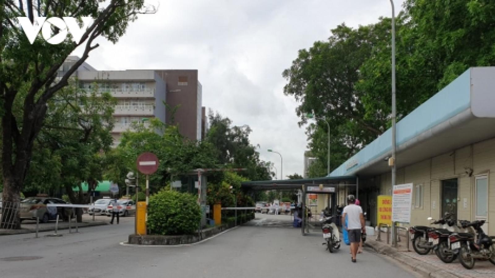 Bệnh viện Đa khoa Đức Giang (Hà Nội) mở cửa trở lại từ 20/6