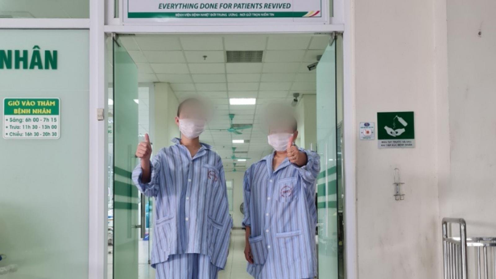 Thai phụ mắc COVID-19 nguy kịch đã hồi phục tốt