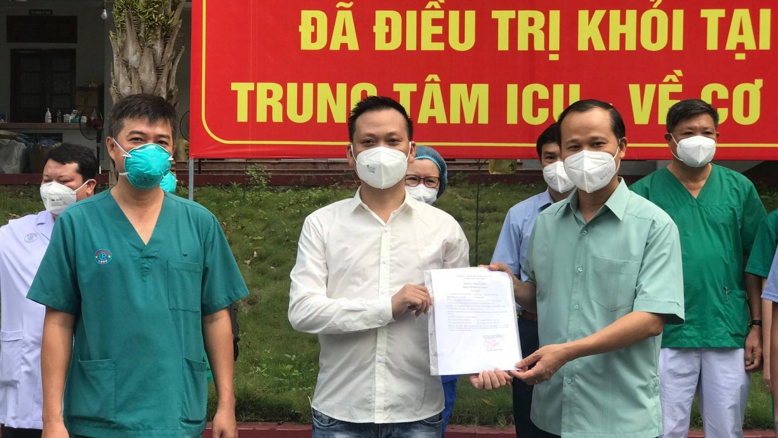2 ca COVID-19 nặng đầu tiên ở Bắc Giang được công bố khỏi bệnh
