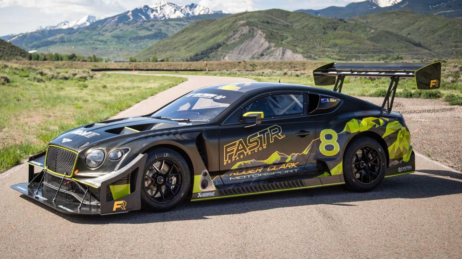 """""""Quái vật"""" Pikes Peak mới của Bentley sẵn sàng lập kỷ lục mới"""