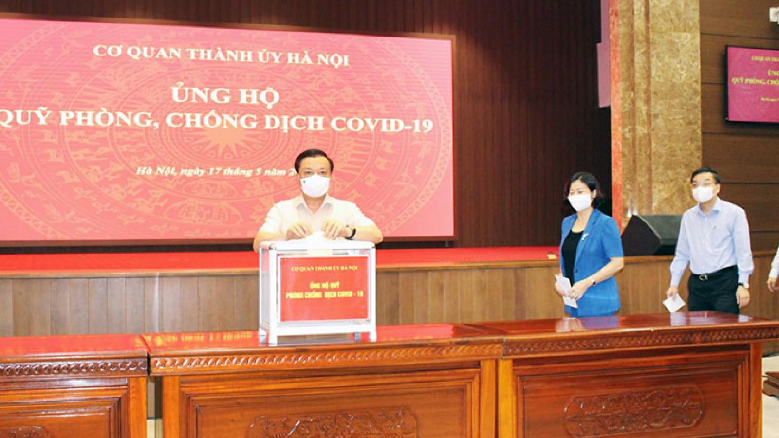 """Bí thư Thành ủy Hà Nội: """"Chung sức, đồng lòng"""" vì mục tiêu tạo miễn dịch cộng đồng"""