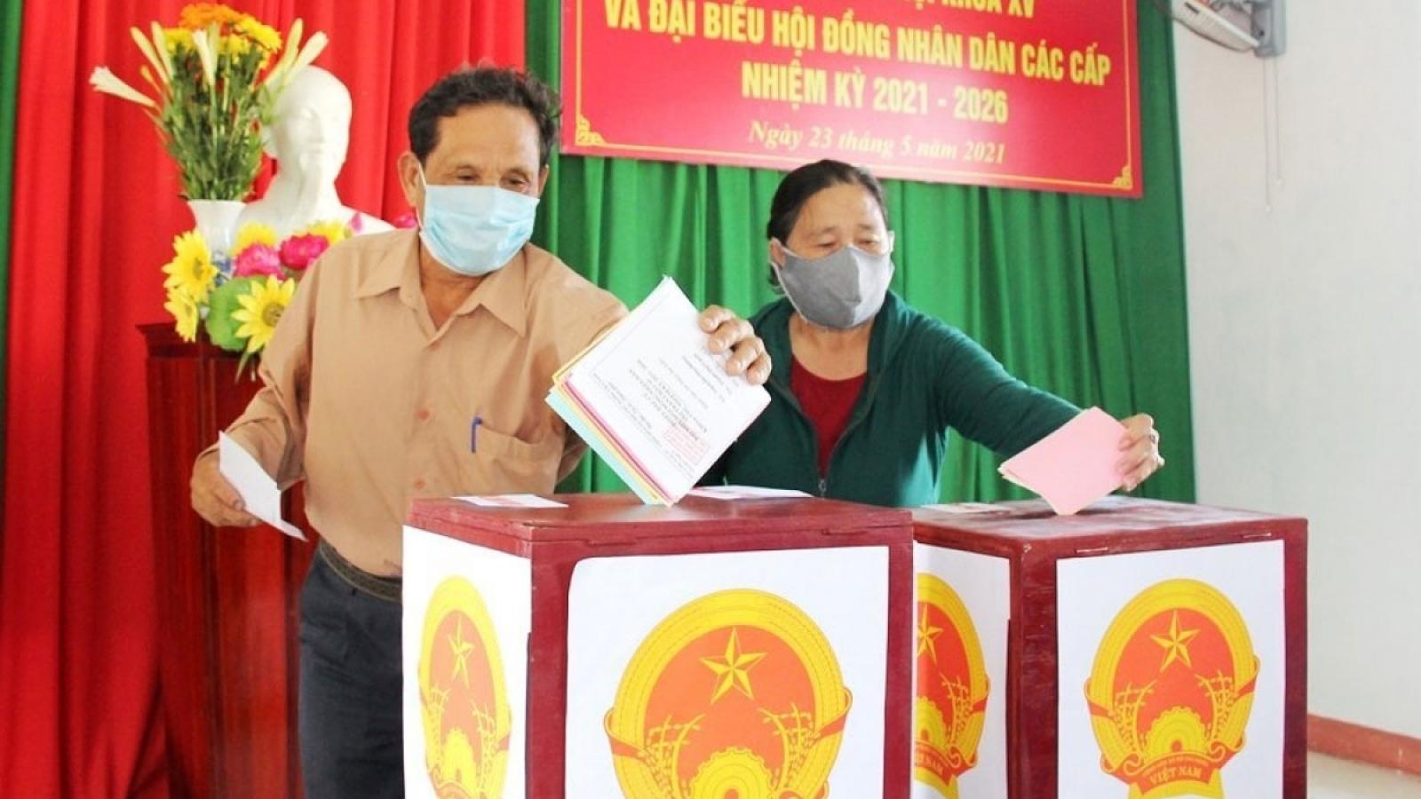 Hôm nay, Hà Nội và Đắk Lắk tổ chức bầu cử lại tại 1 số đơn vị bầu cử