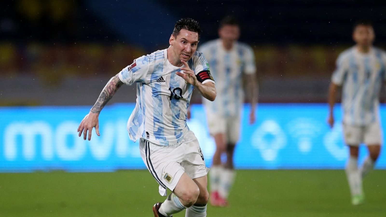 Messi phung phí cơ hội, Argentina bị Colombia cầm hòa ở vòng loại World Cup 2022