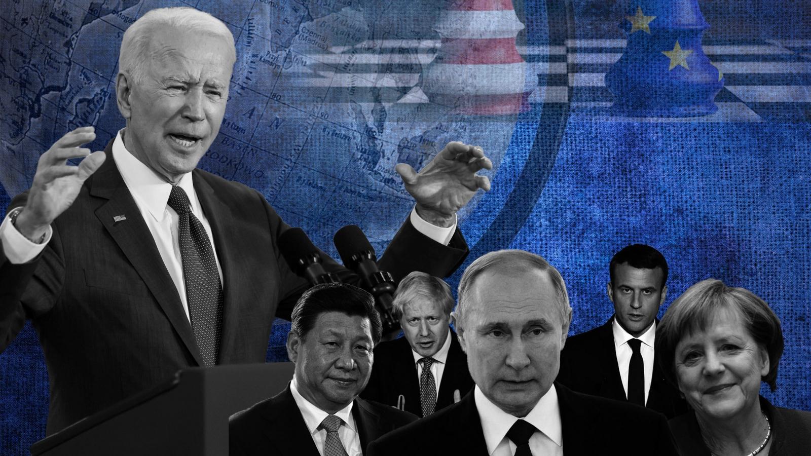 """Biden đưa nước Mỹ """"trở lại"""" châu Âu và nỗ lực đối phó với Nga - Trung"""