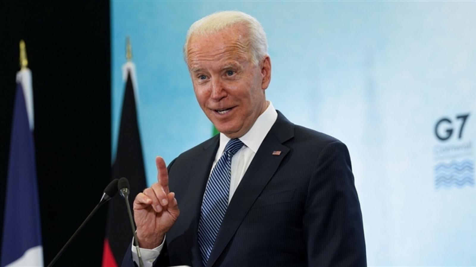 """Tổng thống Biden mô tả ông Putin là """"đối thủ xứng đáng"""""""
