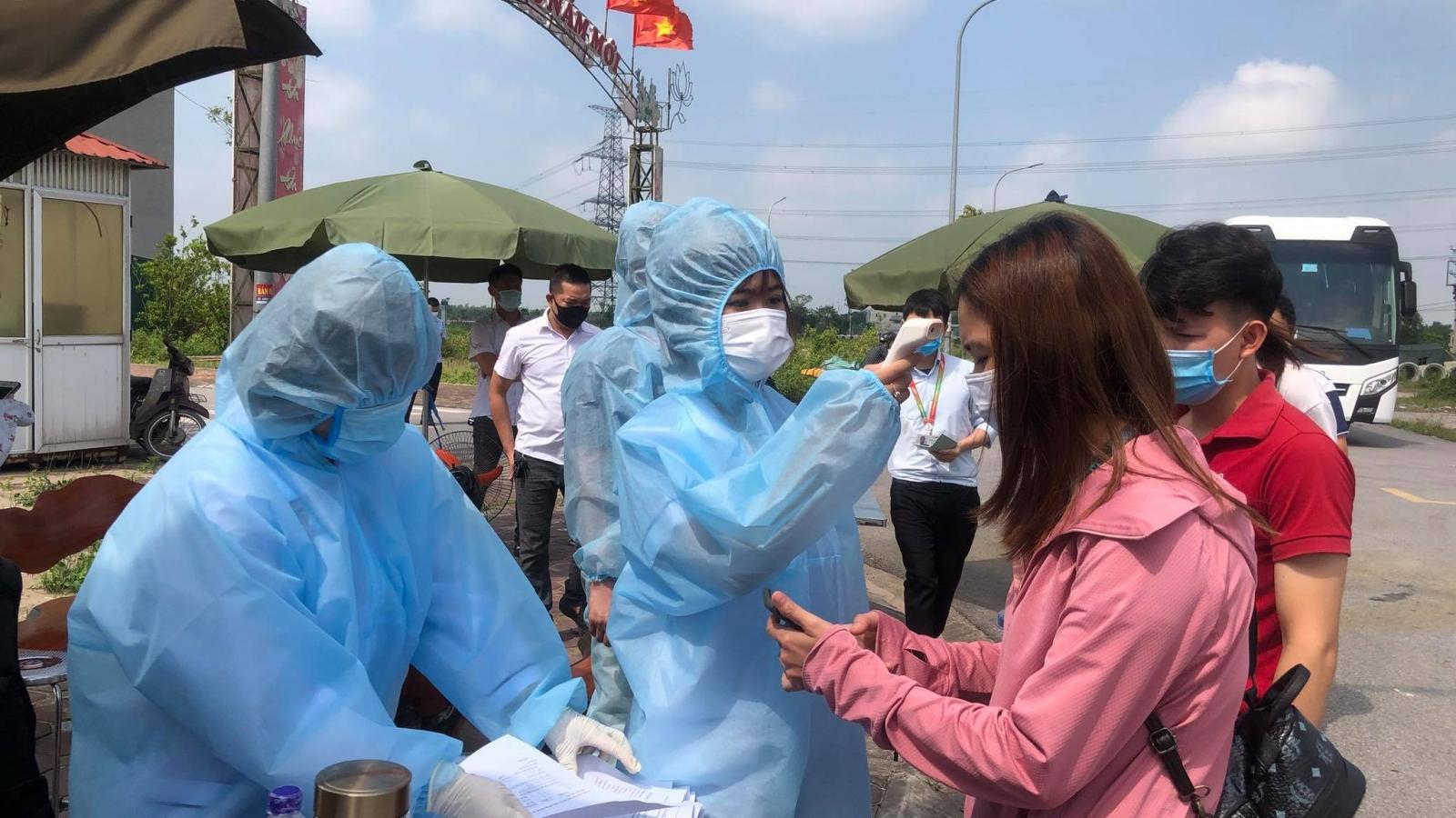 Bắc Ninh có thêm 48 ca mắc Covid-19, nhiều nơi qua 29 ngày không có ca mắc mới