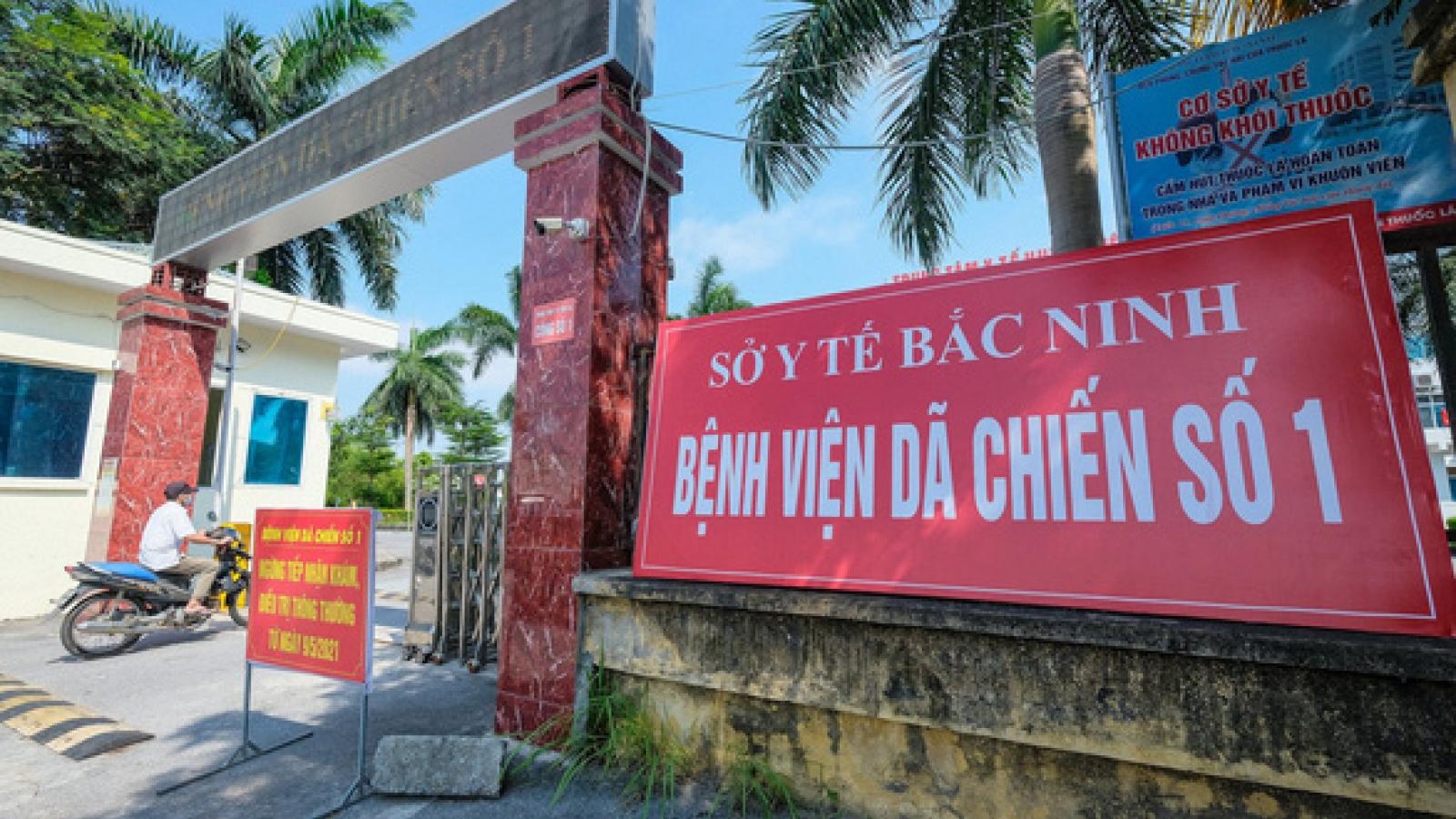 Bắc Ninh dừng hoạt động Bệnh viện Dã chiến số 2 tại huyện Gia Bình