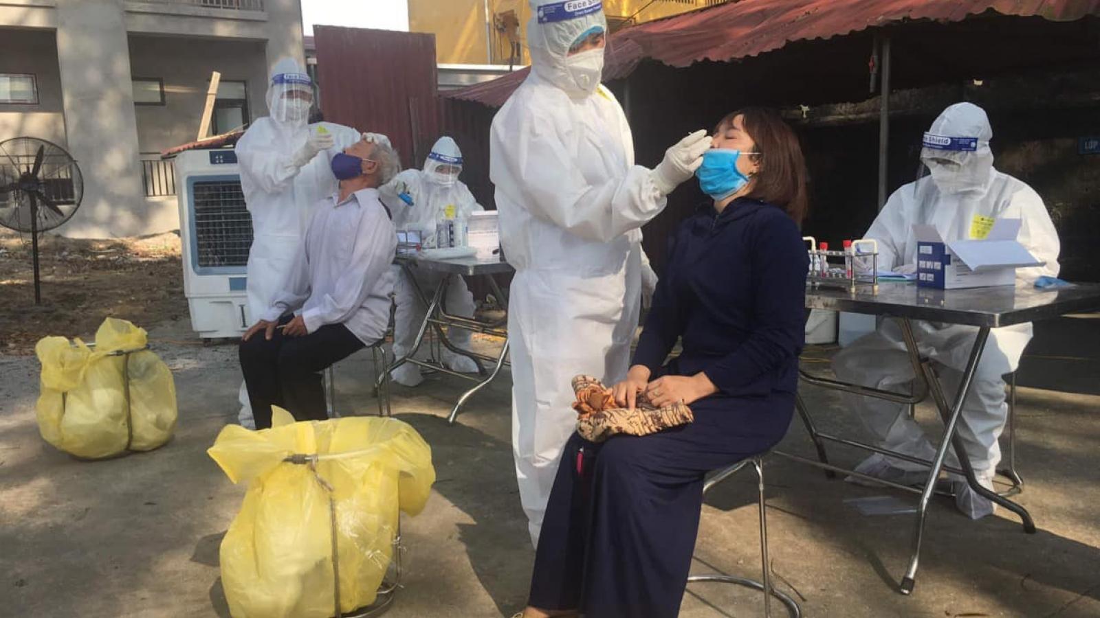 Ngày mai (5/6), xét nghiệm COVID-19 cho toàn bộ người dân Thuận Thành và TP Bắc Ninh