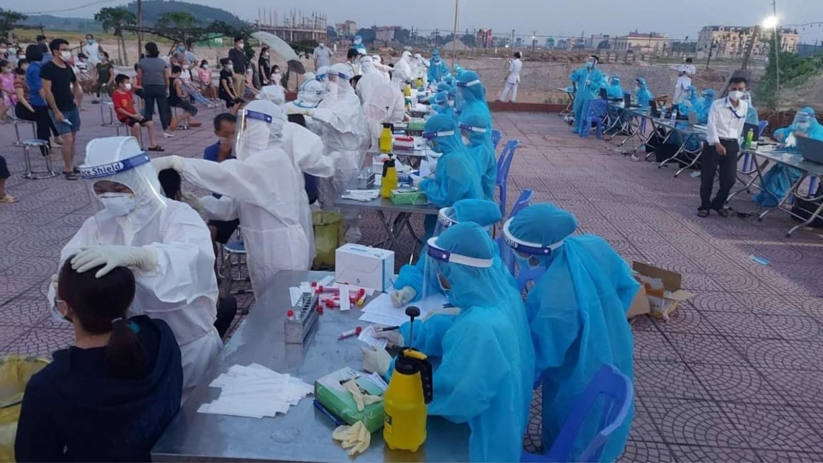 Bắc Ninh khử khuẩn, truy vết tại Công ty AAC Technologies Việt Nam