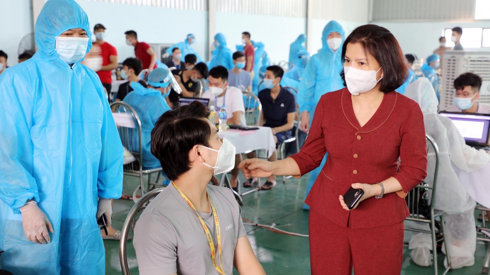 Bắc Ninh phát hiện thêm 21 ca dương tính với SARS-CoV-2 tại 11 công ty