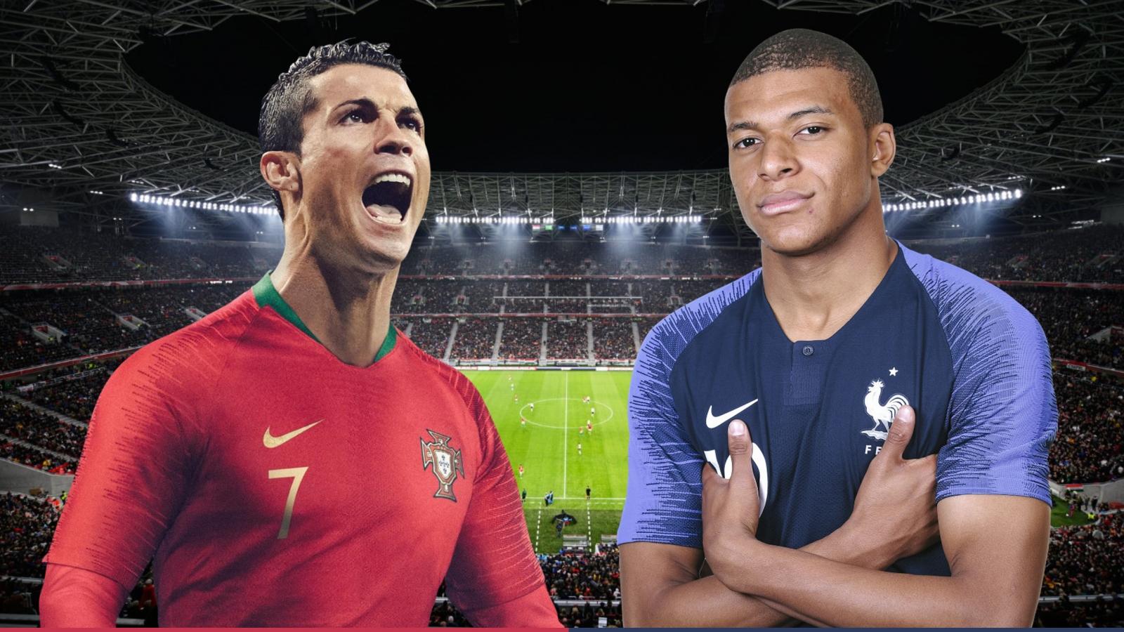 Dự đoán tỷ số, đội hình xuất phát trận Bồ Đào Nha - Pháp