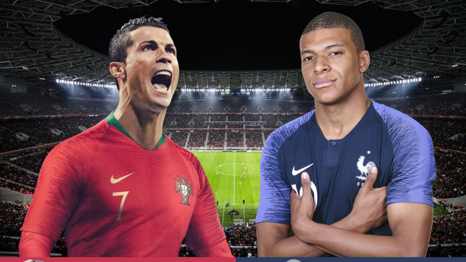 TRỰC TIẾP bóng đá Bồ Đào Nha vs Pháp: Ronaldo chinh phục cột mốc lịch sử 109?