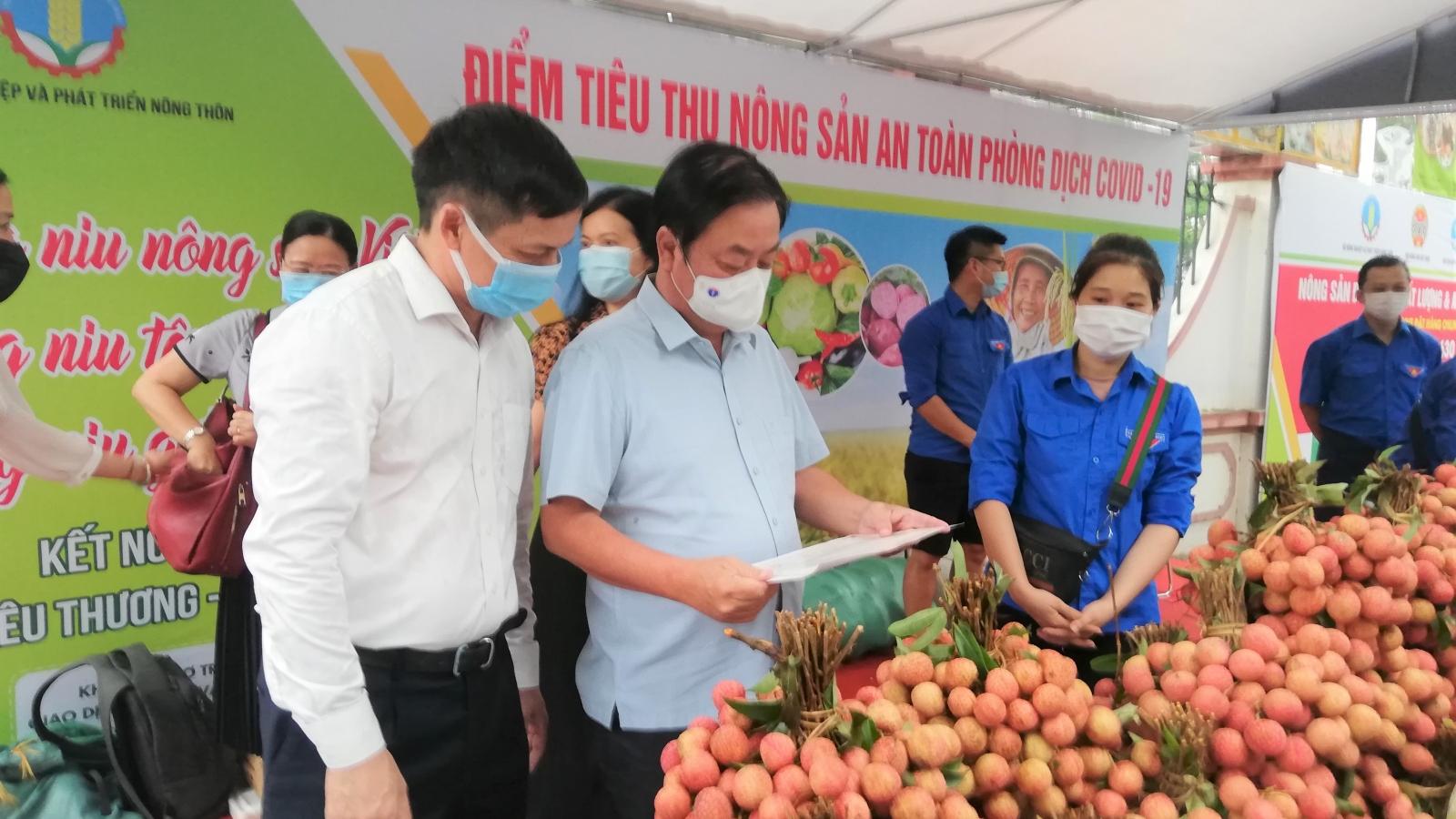 Bộ Nông nghiệp ra mắt điểm hỗ trợ tiêu thụ nông sản an toàn trong mùa dịch COVID-19