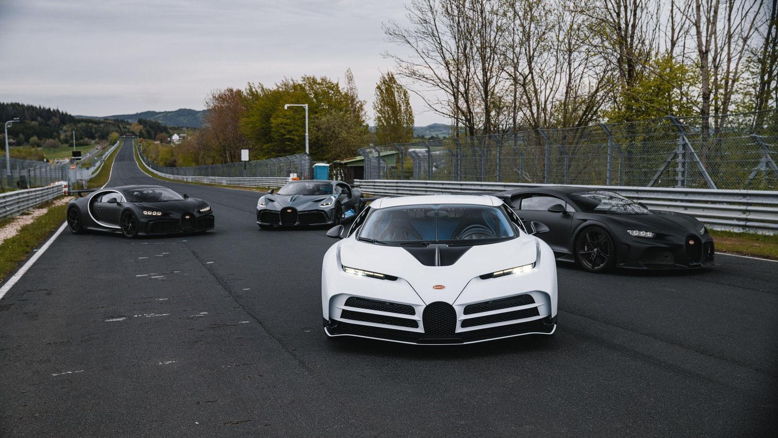 Bugatti thử nghiệm siêu xe triệu đô tại Nurburgring