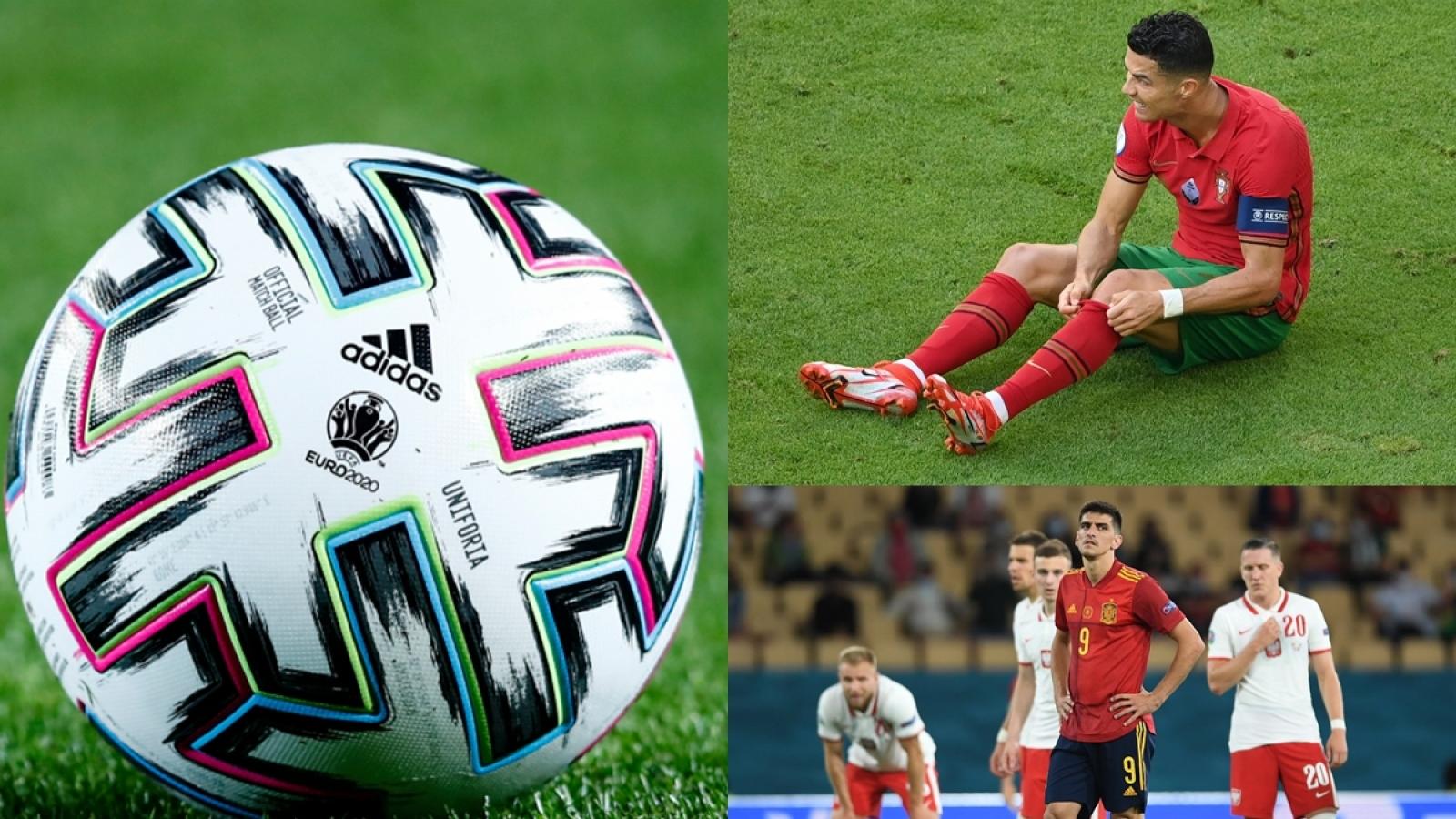 Bảng xếp hạng EURO 2021 hôm nay 20/6: Bồ Đào Nha, Tây Ban Nha lâm nguy