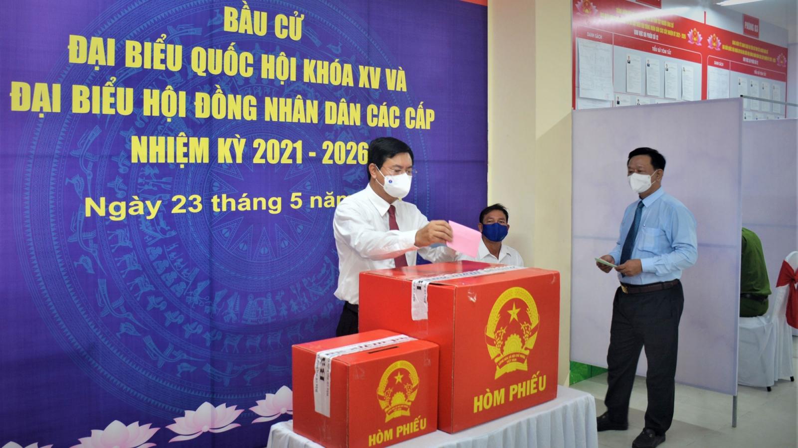 51 người trúng cử đại biểu HĐND tỉnh Cà Mau