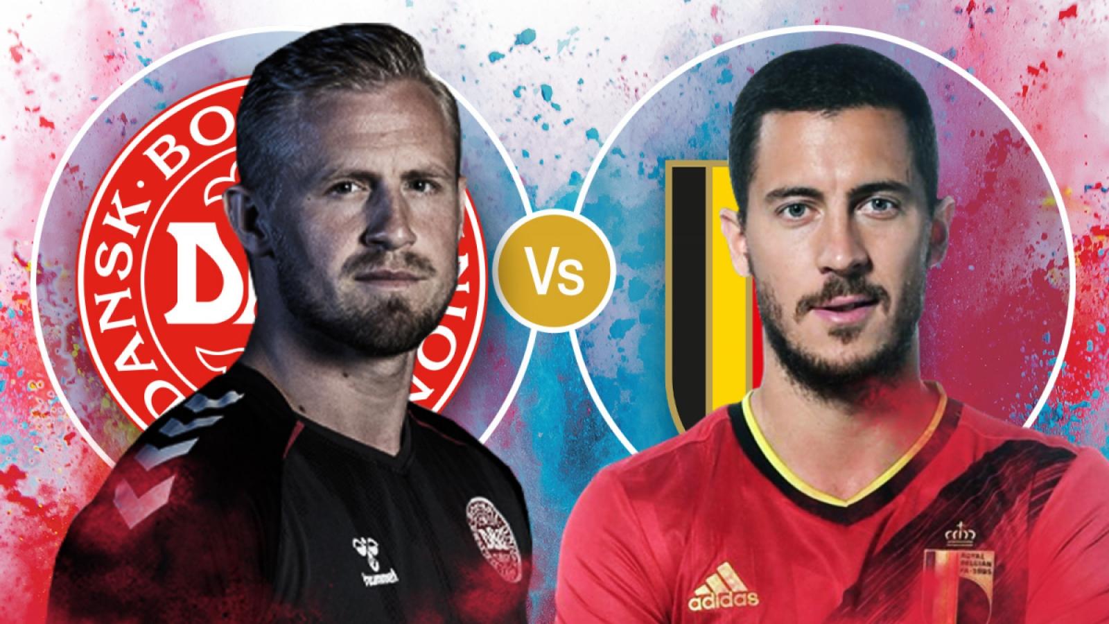 Cách xem trực tiếp ĐT Đan Mạch vs ĐT Bỉ bảng B - EURO 2021