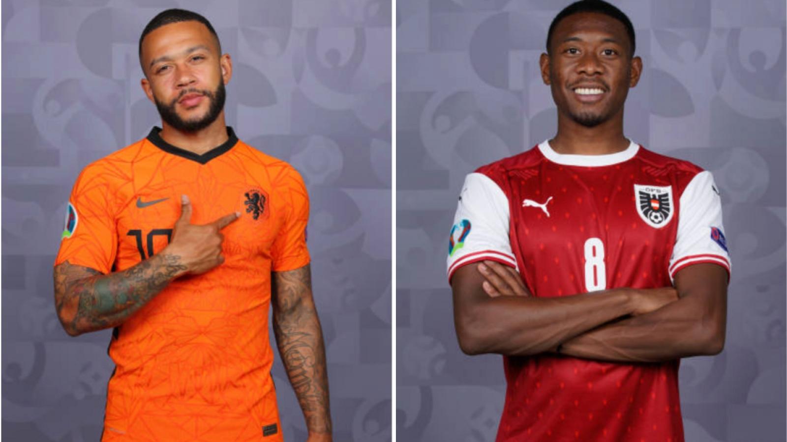 Cách xem trực tiếp ĐT Hà Lan vs ĐT Áo bảng C - EURO 2021