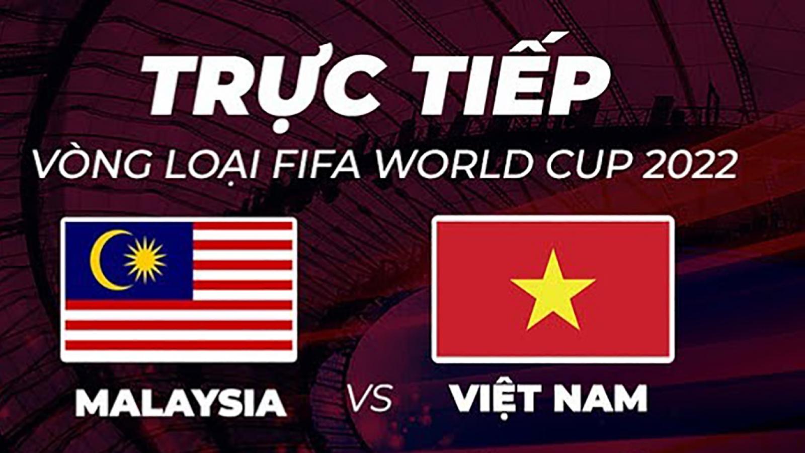 Cách xem trực tiếp trận đấu giữa ĐT Việt Nam vs ĐT Malaysia