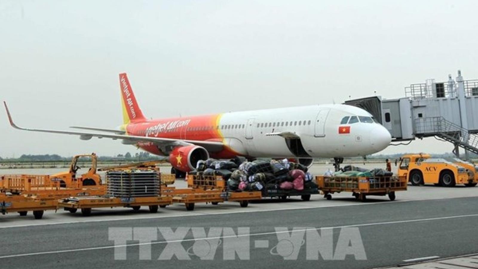 Flights between Hai Phong and HCM City temporarily halted