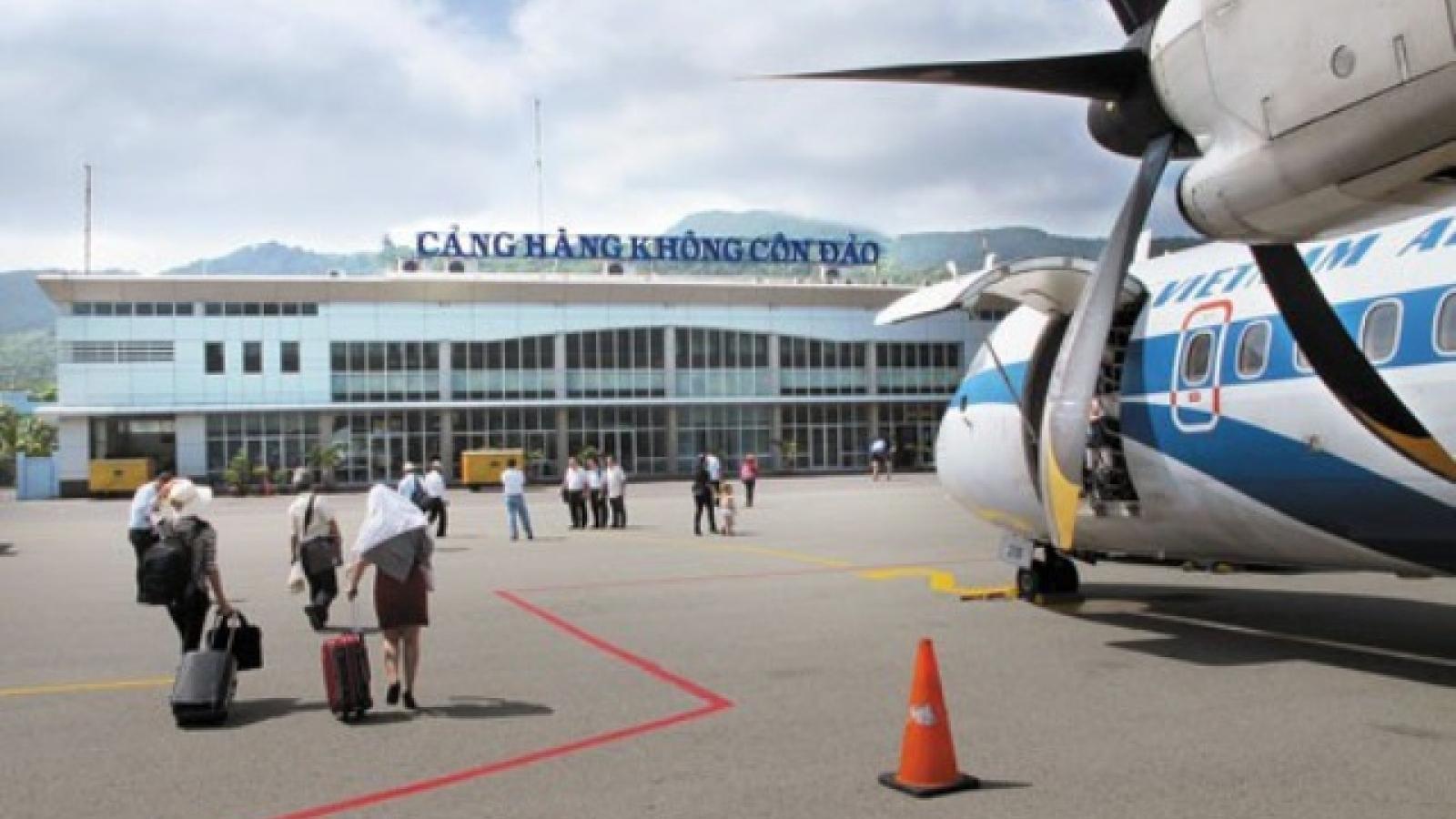Tạm dừng tất cả các chuyến bay đến Côn Đảo để phòng COVID-19