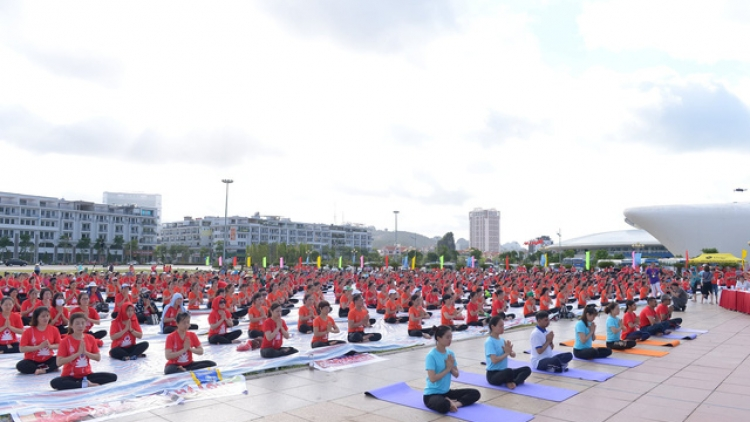 Seventh International Yoga Day in Vietnam to be held online