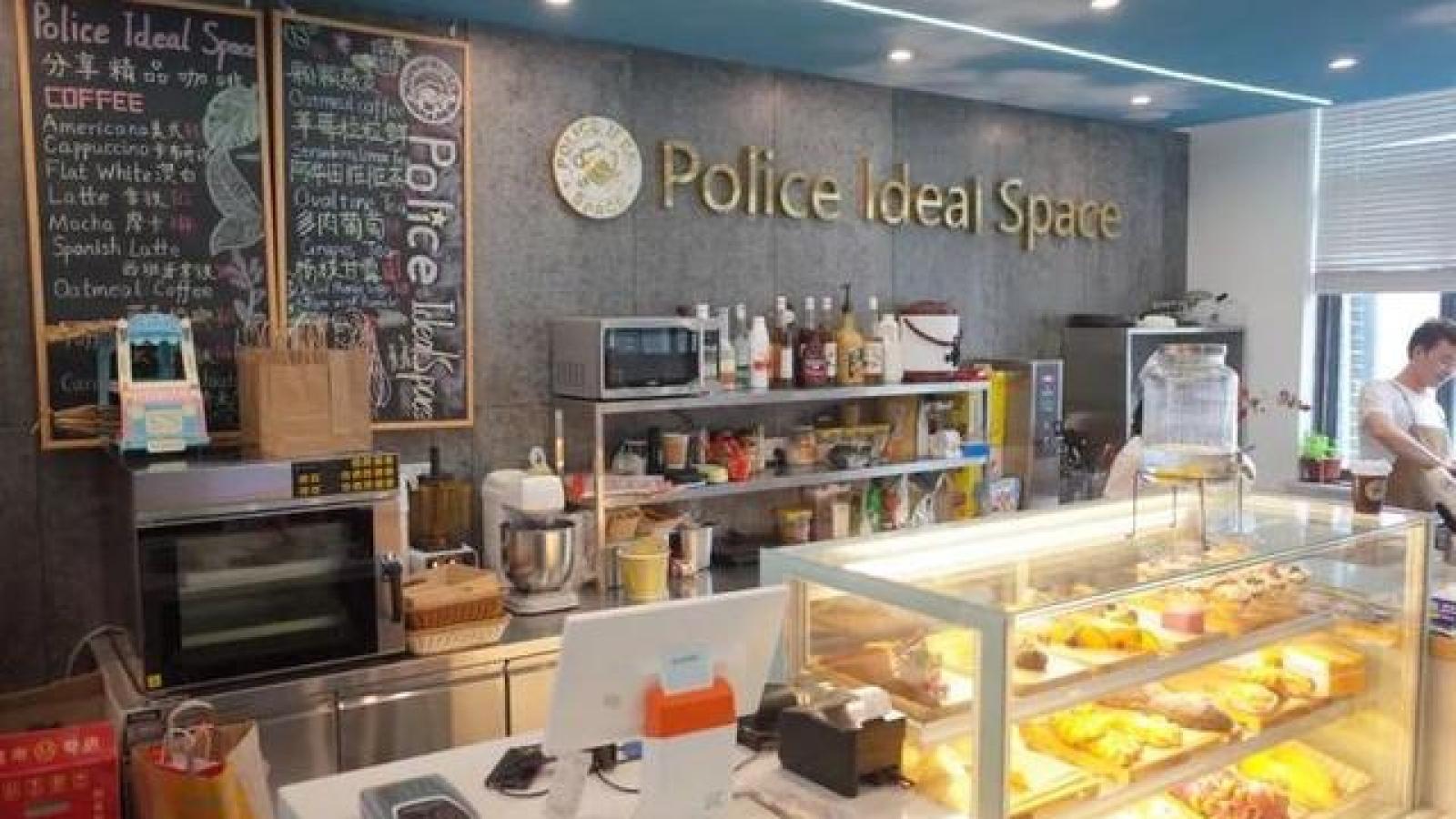 Cà phê đồn công an – xu hướng mới ở Hàng Châu, Trung Quốc