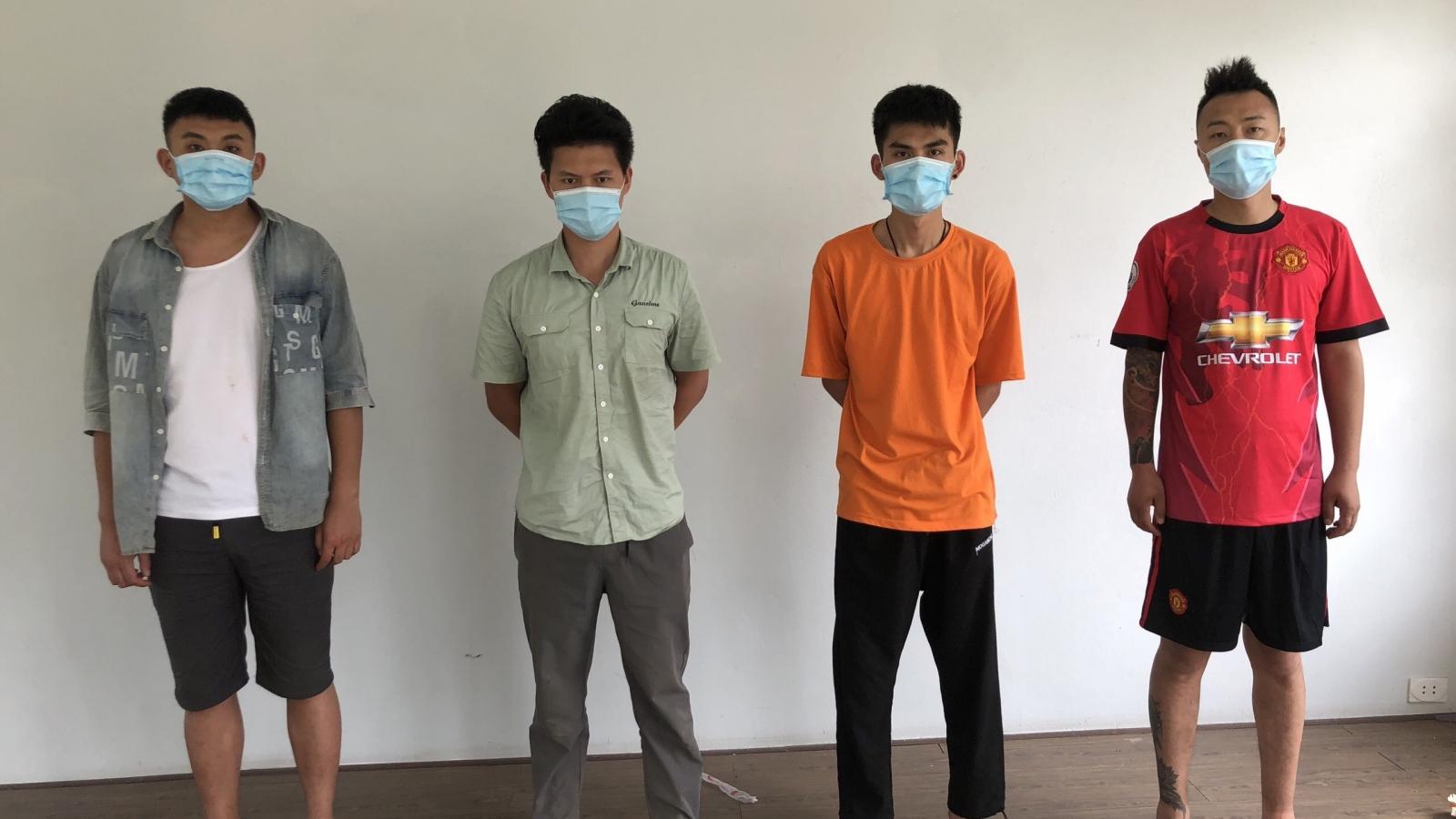 4 người Trung Quốc nhập cảnh trái phép vào Việt Nam