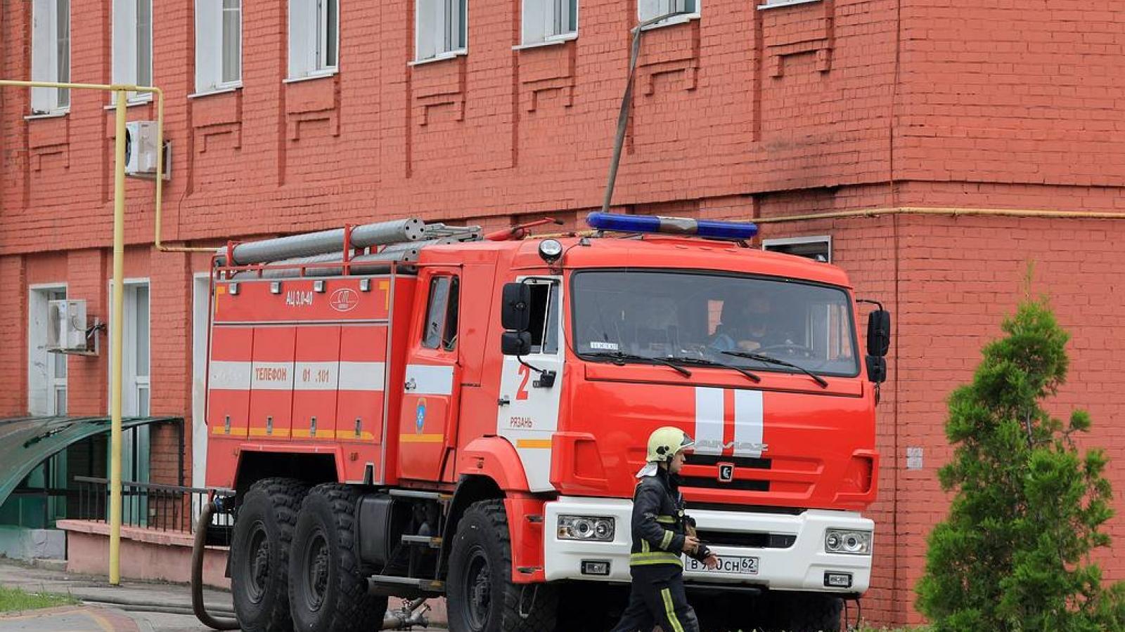 Cháy bệnh viện ở Nga khiến 11 người thương vong