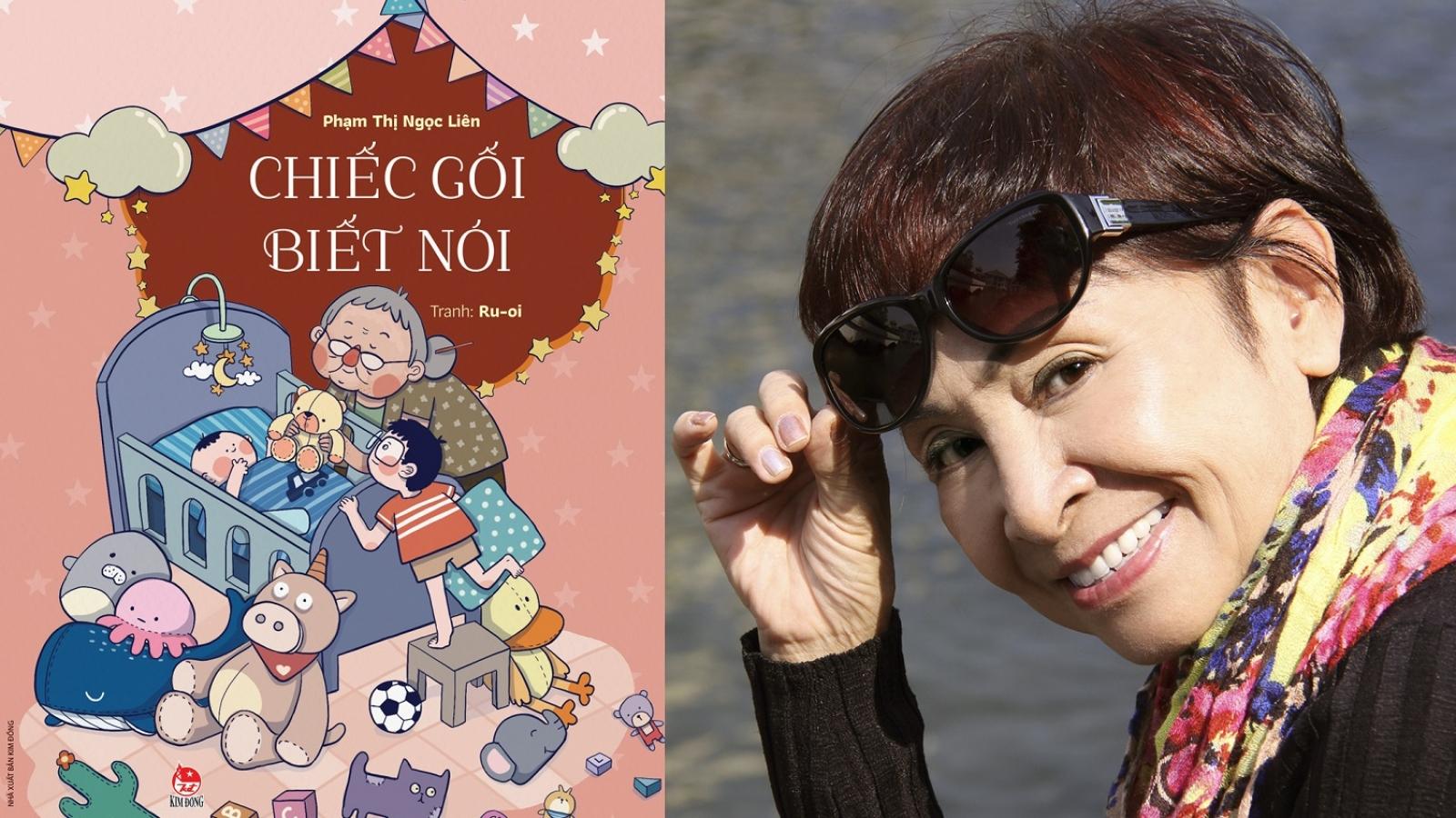 Nhà thơ Phạm Thị Ngọc Liên lần đầu ra mắt sách thiếu nhi ở tuổi… bà nội