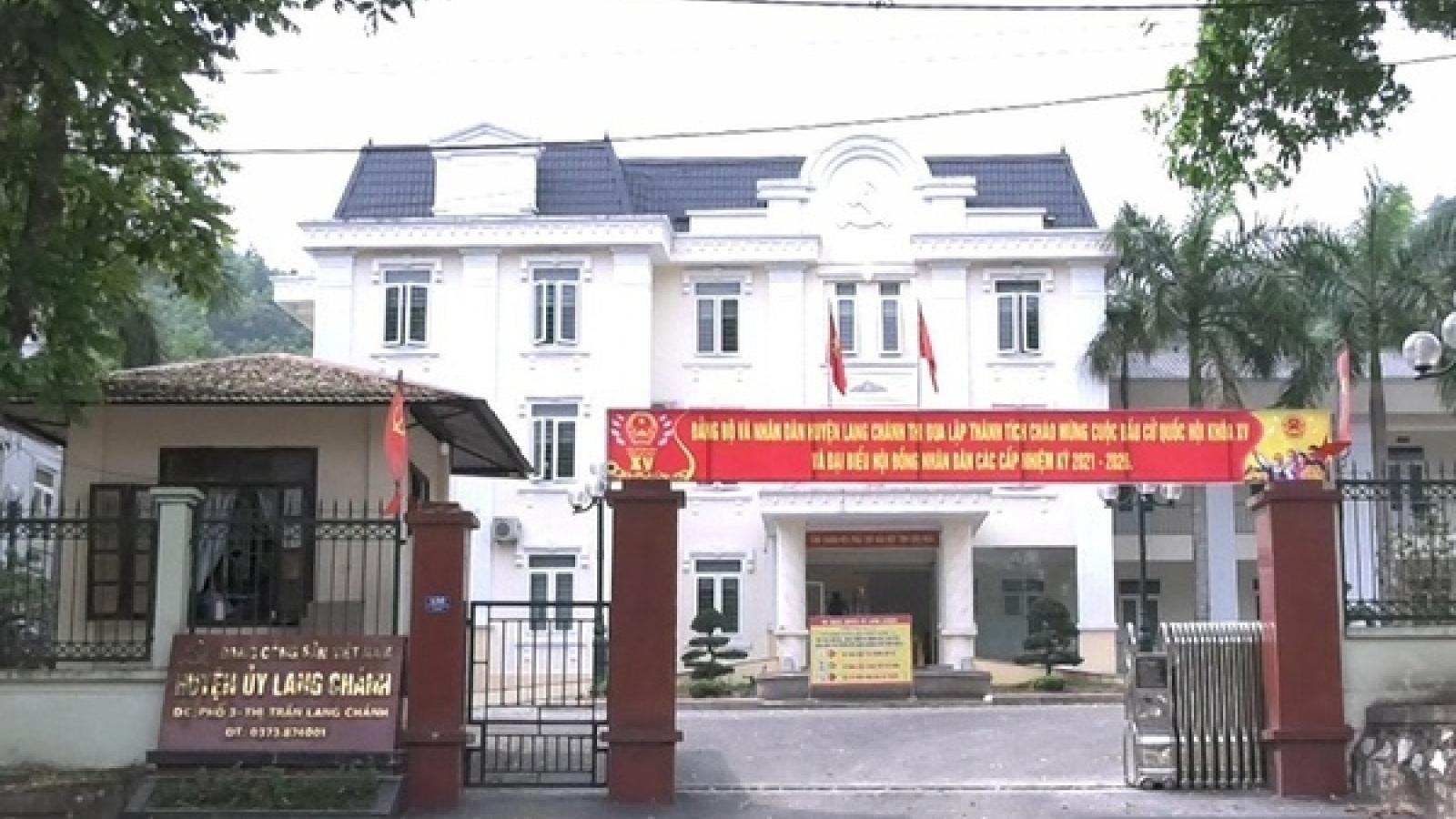 Cách tất cả chức vụ trong Đảng đối với Chủ nhiệm UBKT huyện ở Thanh Hóa