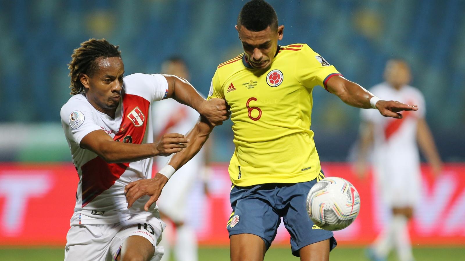 Copa America 2021: Colombia thua Peru, Brazil sớm vào tứ kết