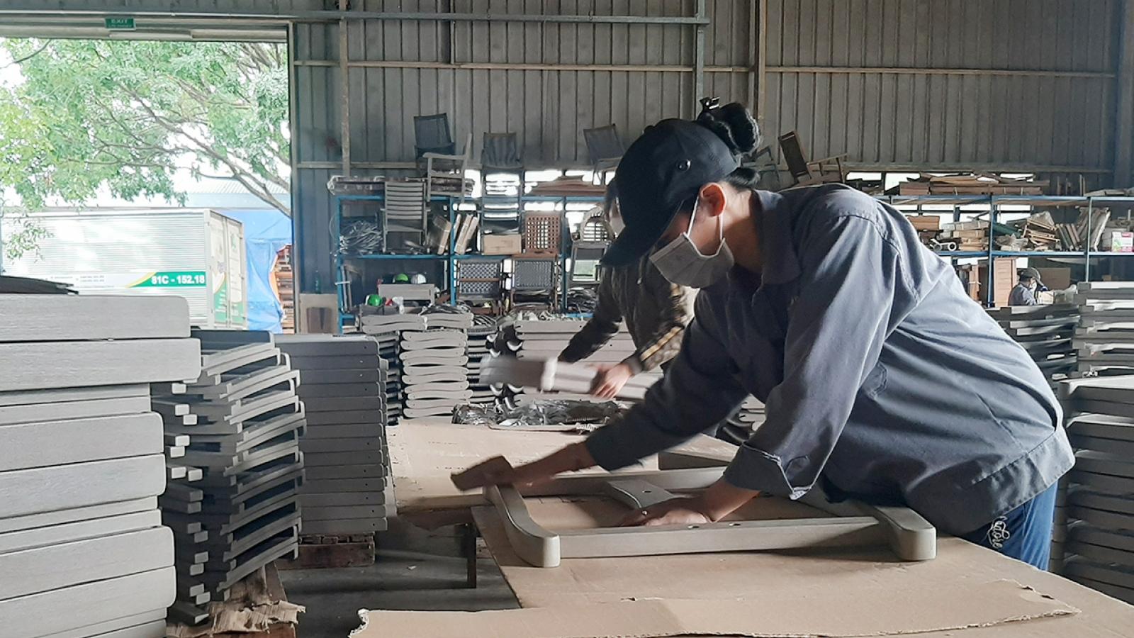 Kon Tum thực hiệnnghiêmphòng dịch COVID-19 tại khu, cụm công nghiệp