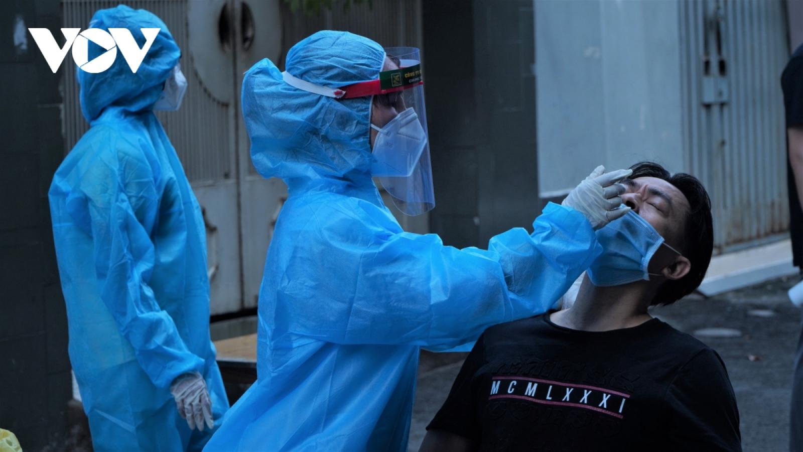 6 giờ qua, Việt Nam có thêm 118 ca mắc COVID-19 trong nước