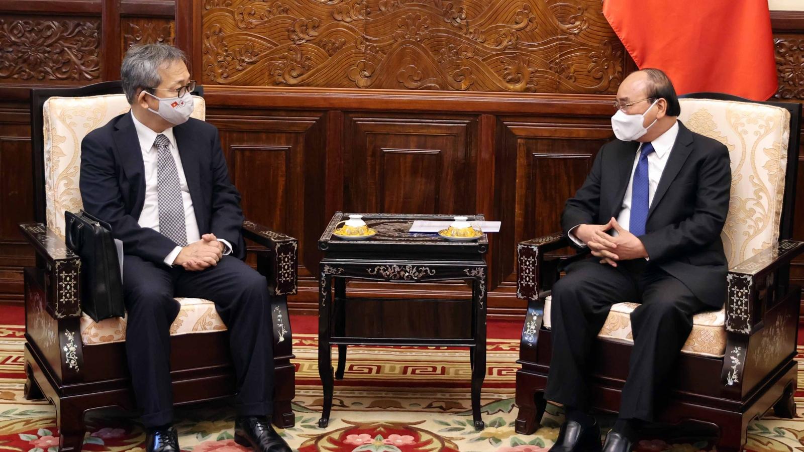 Chủ tịch nước tiếp Đại sứ Nhật Bản tại Việt Nam