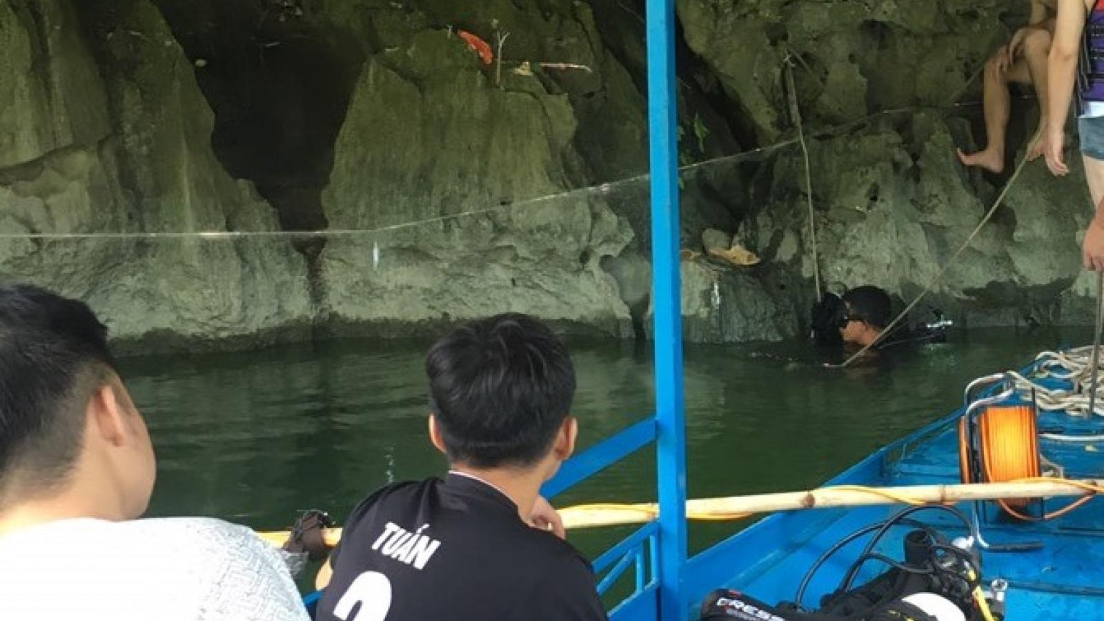 Nam thanh niên mất tích khi lặn bắt cá trên hồ Ba Bể