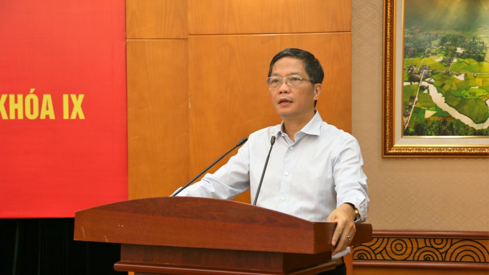 """Trưởng Ban Kinh tế Trung ương: """"Tập trung bảo vệ, khôi phục rừng"""""""
