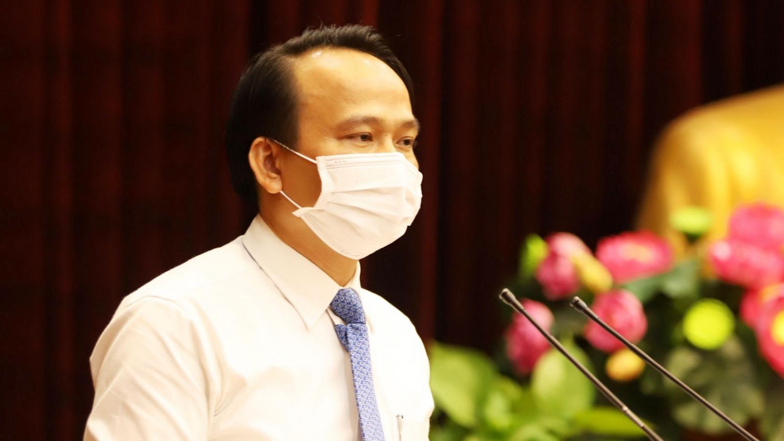 Ông Nguyễn Đình Vĩnh giữ chức Trưởng Ban Tổ chức Thành ủy Đà Nẵng