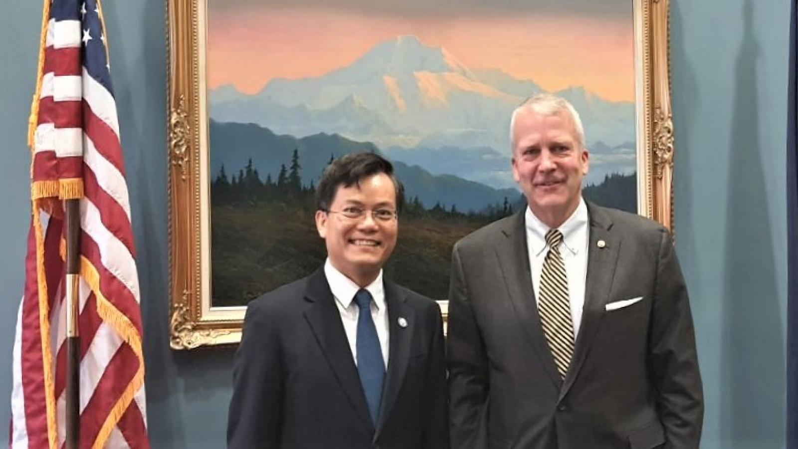 Thúc đẩy quan hệ đối tác toàn diện Việt Nam – Hoa Kỳ