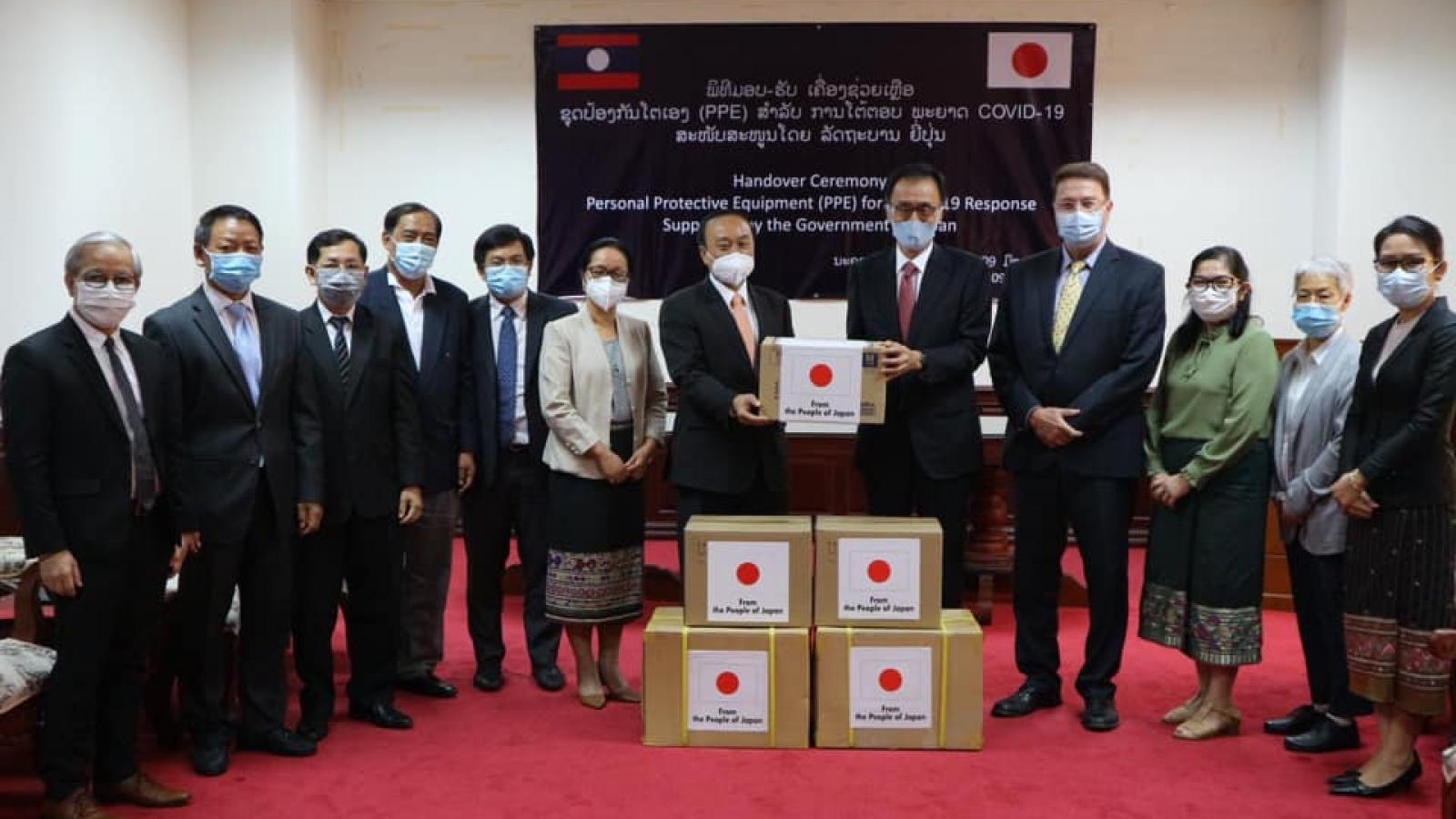 Lào tiếp tục nhận hỗ trợ quốc tế cho nỗ lực phòng chống dịch Covid-19