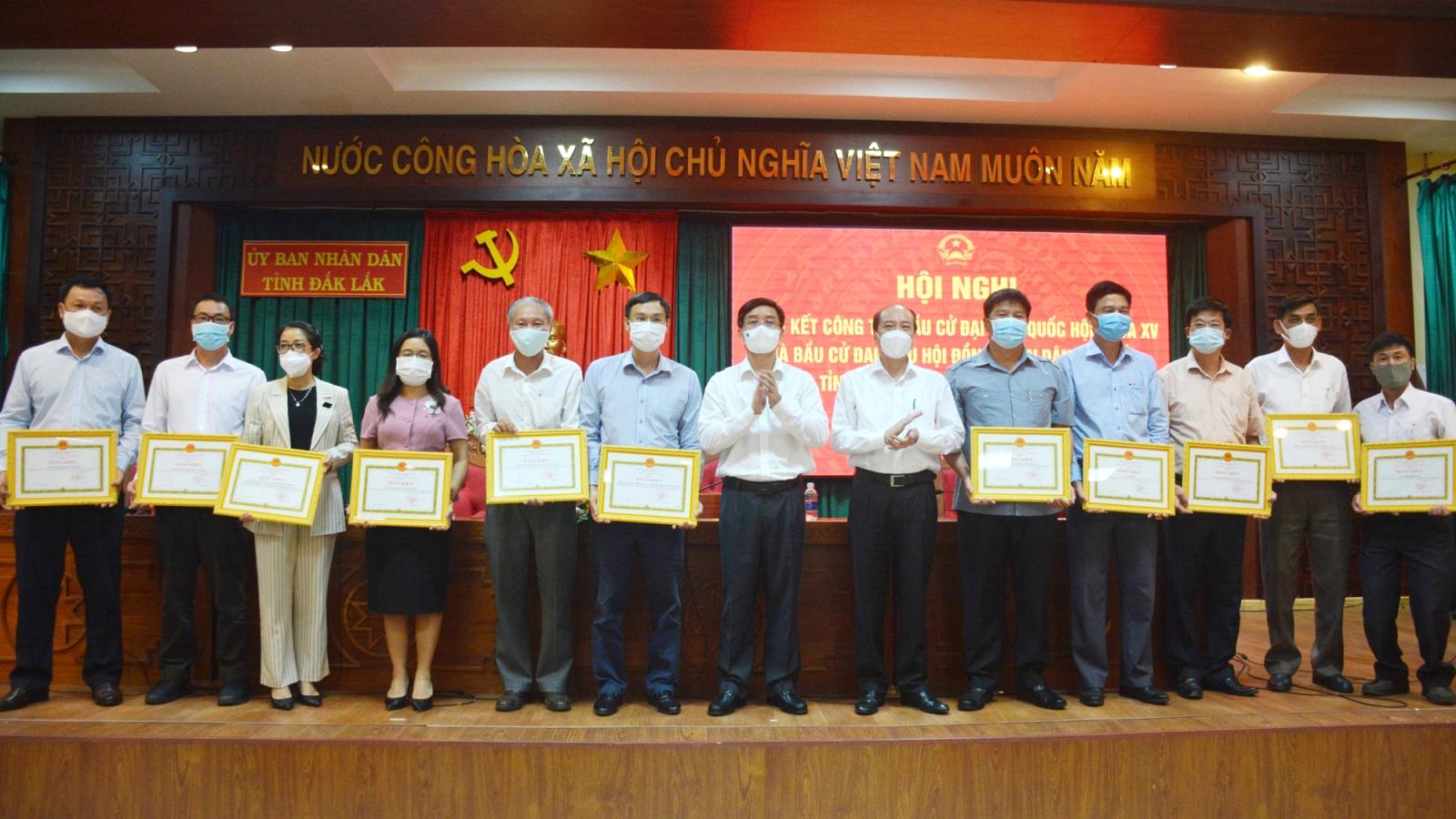 Đắk Lắk tổng kết công tác bầu cử đại biểu Quốc hội và HĐND các cấp