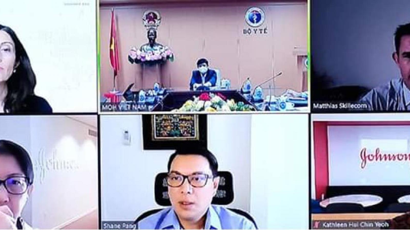 Việt Nam đàm phán mua vaccine Johnson & Johnson