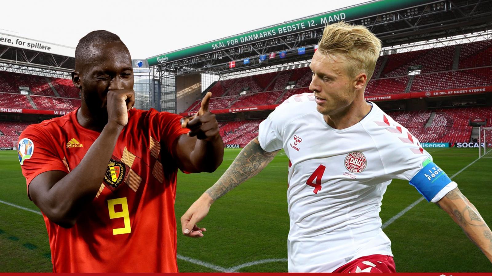 Dự đoán tỷ số, đội hình xuất phát trận Đan Mạch - Bỉ