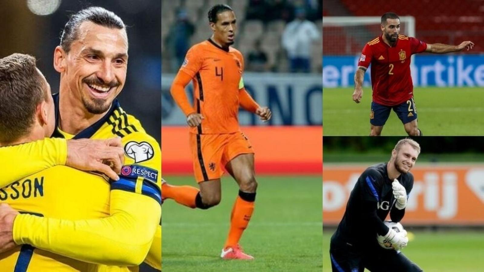 Điểm danh những ngôi sao phải làm khán giả ở EURO 2020 vì chấn thương