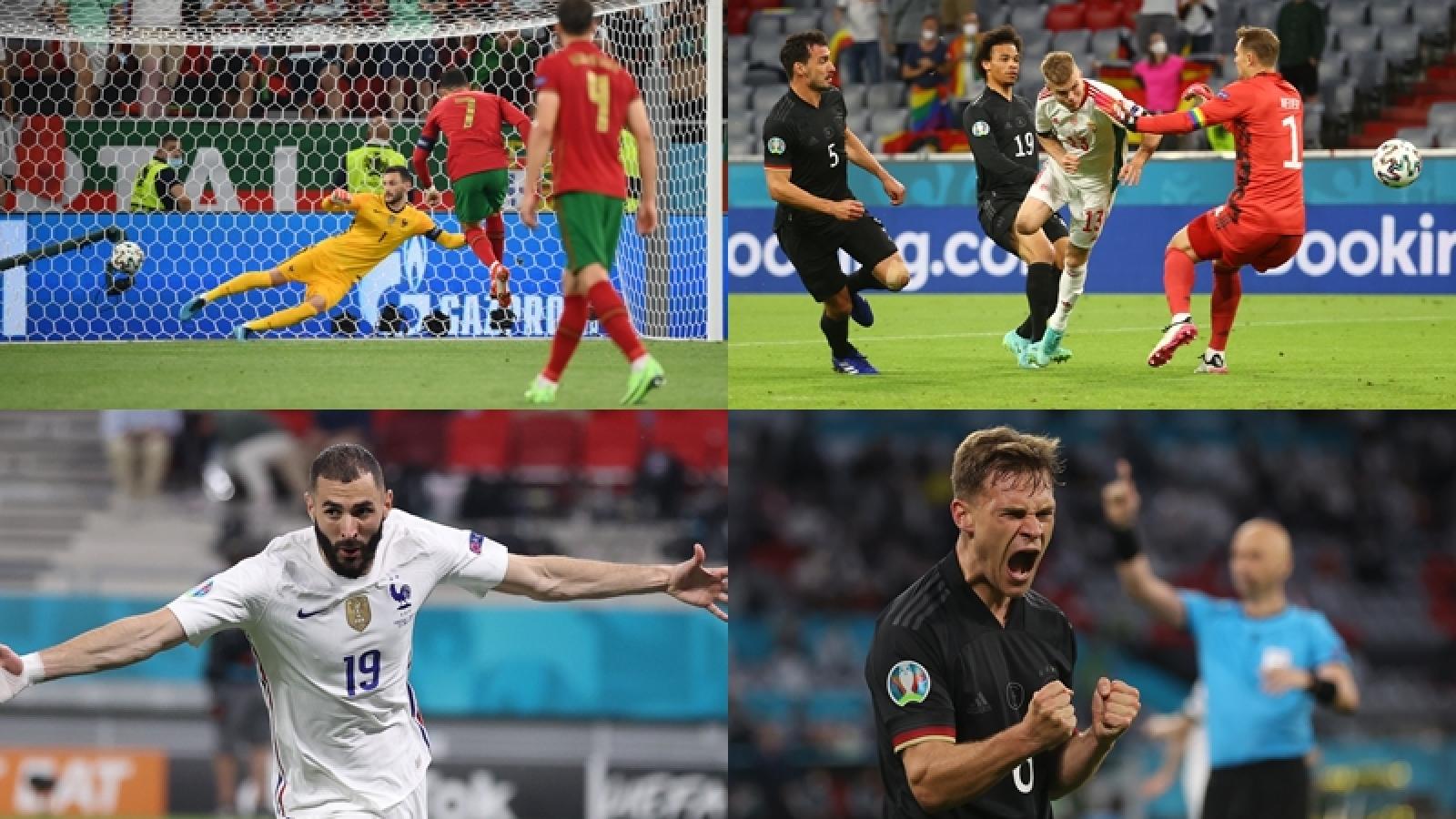 """Những diễn biến """"điên rồ"""" giúp Bồ Đào Nha và Đức vượt qua bảng tử thần"""