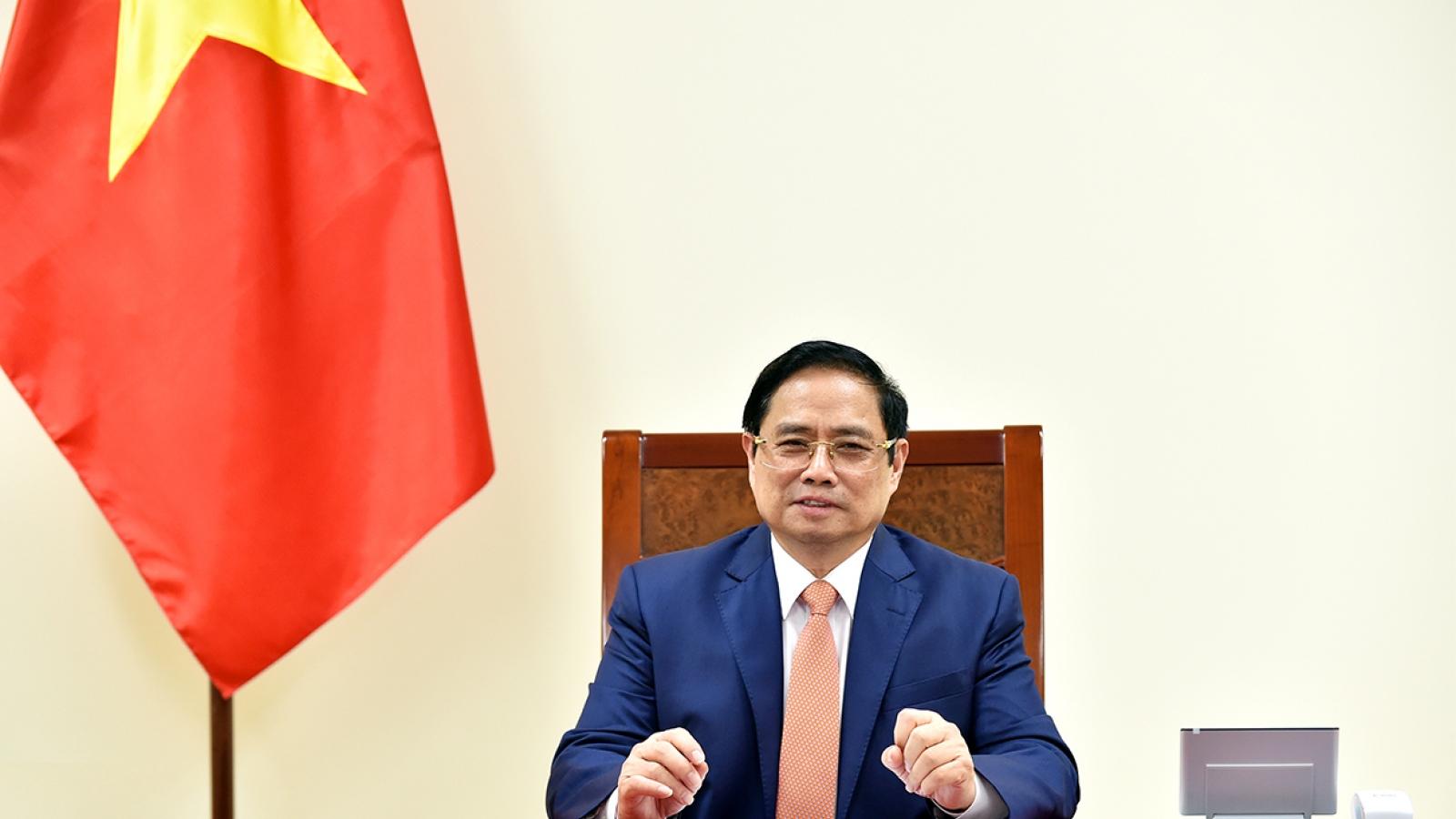 Thủ tướng Phạm Minh Chính: Việt Nam luôn coi trọng quan hệ đối tác chiến lược với Đức