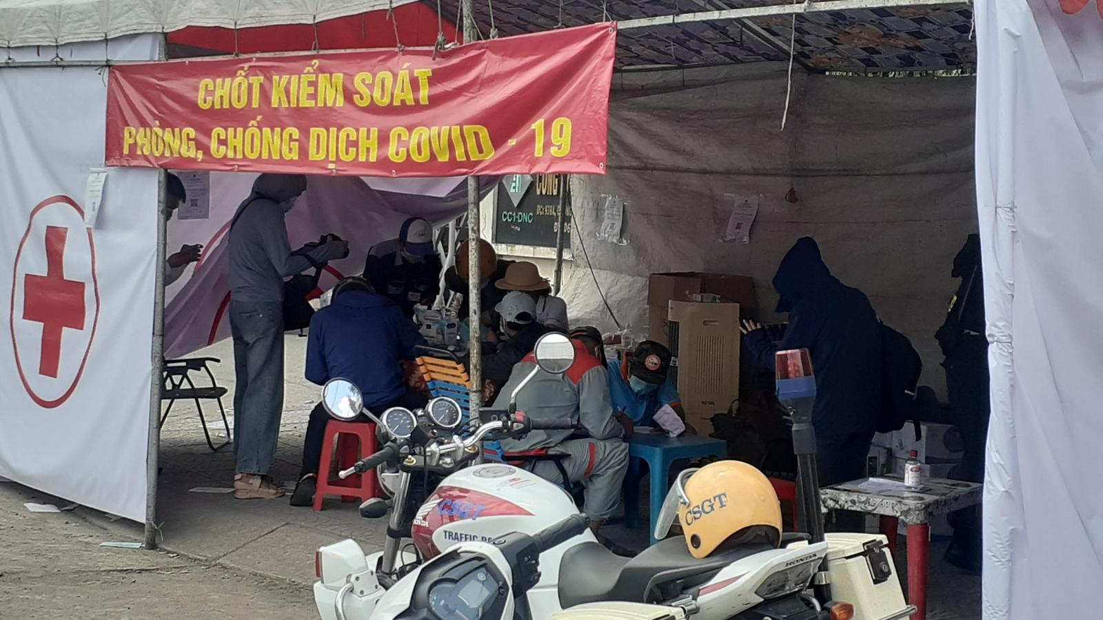 Ngày đầu Đồng Nai kiểm soát người từ TP.HCM: Người hoang mang, người lỡ kế hoạch