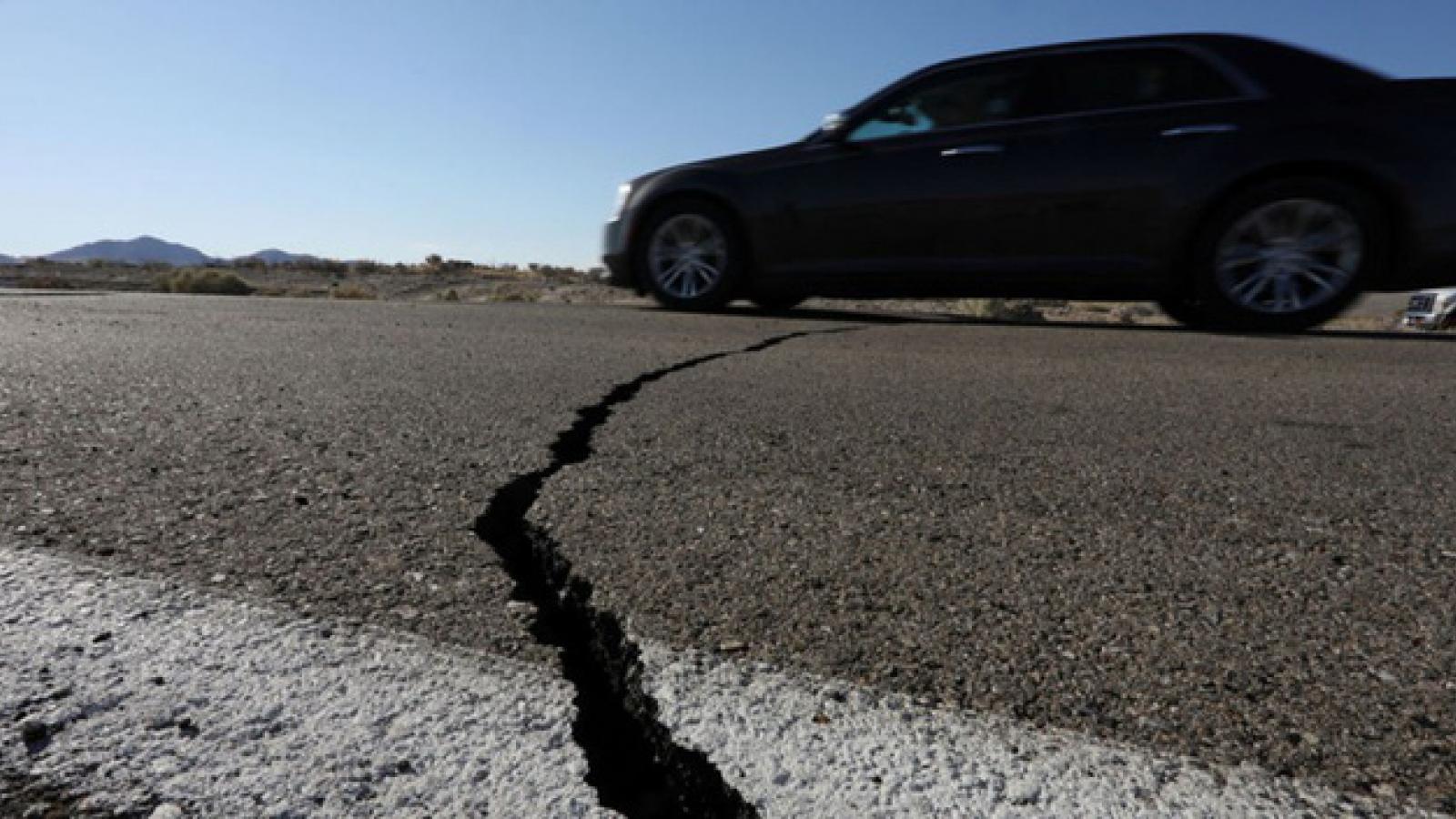 Hơn 150 trận động đất vừa xảy ra tại phía Nam bang California
