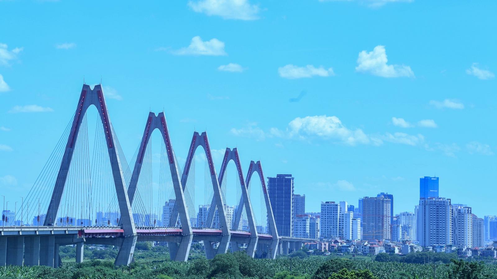Đường phố Hà Nội thông thoáng, chỉ số về không khí tốt